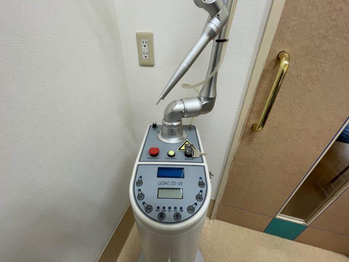 炭酸ガスレーザー装置